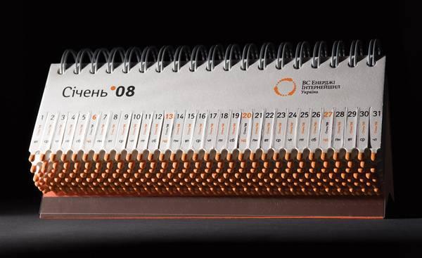 Calendar Design Concept : Showcase of unusual calendar designs print
