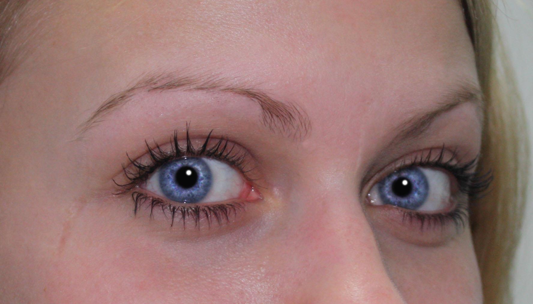 Eye Reflection Photoshop Done   the eyes are positively
