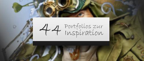 44 Erstaunliche Portfolios Welche Dich Inspirieren Werden Print24 Blog