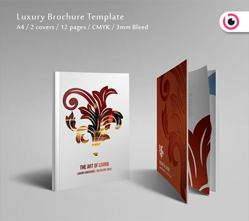 44 creative brochure designs print24 blog luxury brochure template pronofoot35fo Choice Image