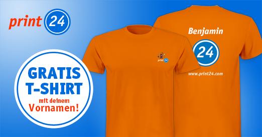 Jetzt gratis T-Shirt bestellen!