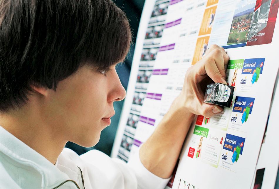 Offsetdruck Qualitätssicherung | Druckbogen-Kontrolle